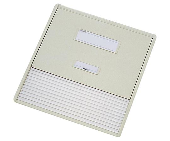 カードインデックス A3/A4(縦2面)10名用 オフホワイト HC113C