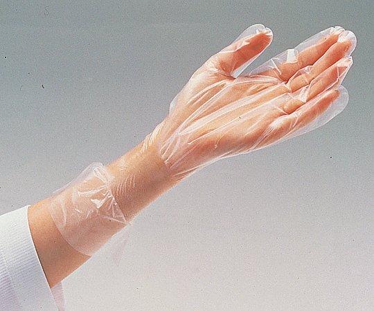 ナビフィット手袋 PE 内エンボス加工 100枚入 M