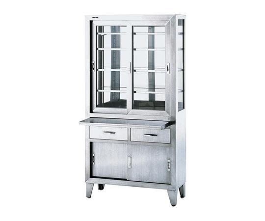 器械戸棚(引出し・スライドテーブル付き)  SK-09T