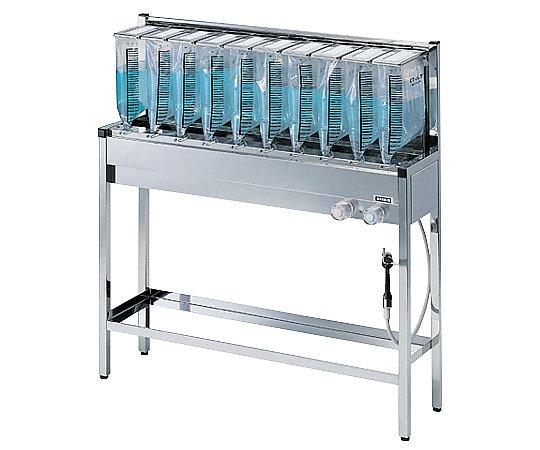 [取扱停止]バッグ式蓄尿洗浄処理装置 6人用(1段式) KT-6N