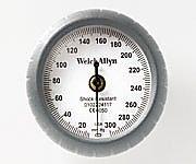 アネロイド血圧計[デュラショック・ゲージ一体型スタンダード] ゲージのみ DS44