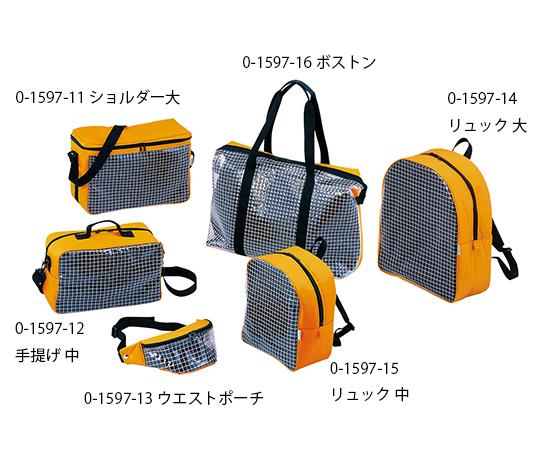 救急・応急処置用バッグ[透明・耐寒タイプ] ウエストポーチ小