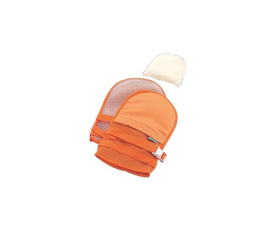 抜管防止手袋 小 メッシュ オレンジ 小オレンジ
