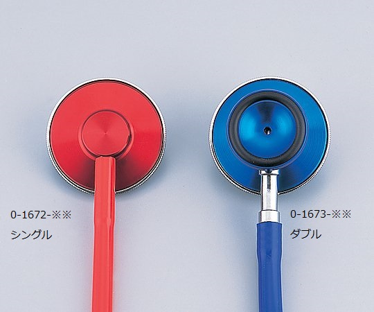 ナーシングスコープ No.120 (外バネ式 ダブル) スカイブルー 0120B078