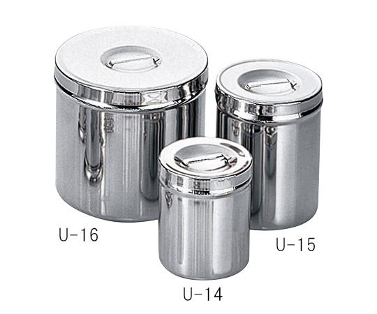 湿布缶 180×175mm U-16