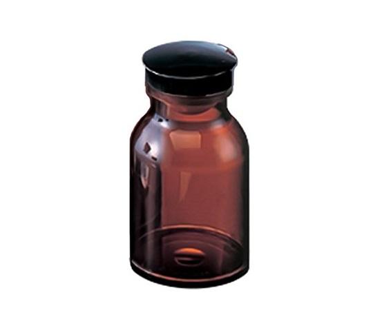 散薬瓶 150mL 茶褐色 キャップ黒 1本 150mL(茶褐色)