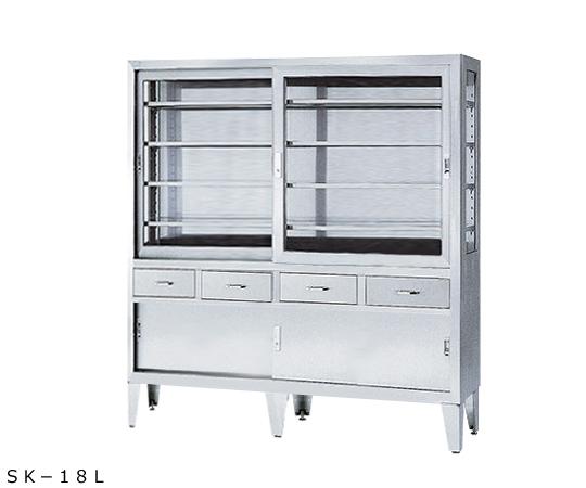 器械戸棚(引出し付き)  SK-18L