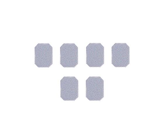 マグネットマーク(文字なし) ミステッドグレー 6個入 JC型