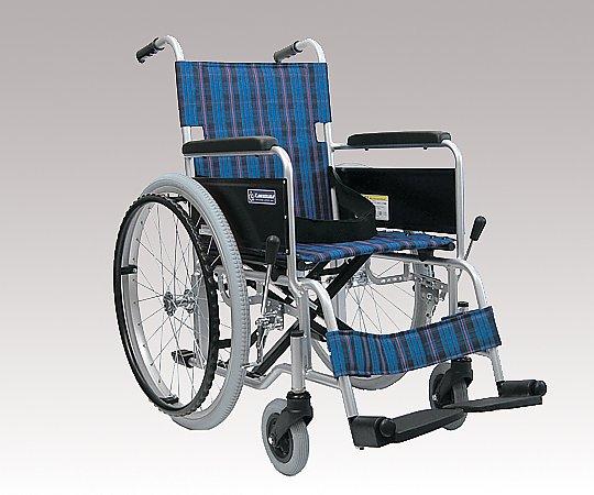 車椅子 (自走式/アルミ製/ノーパンクタイヤ)
