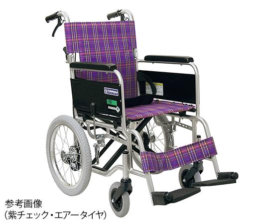 [取扱停止]車椅子(アルミ製・背折れタイプ)