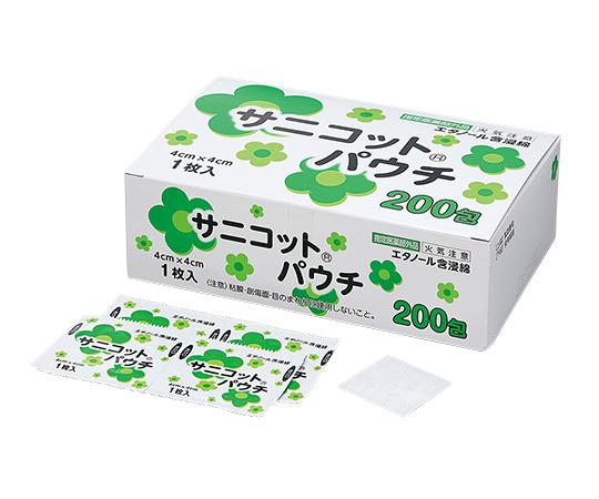 サニコット(R)パウチ 1箱(1枚/包×200包入)