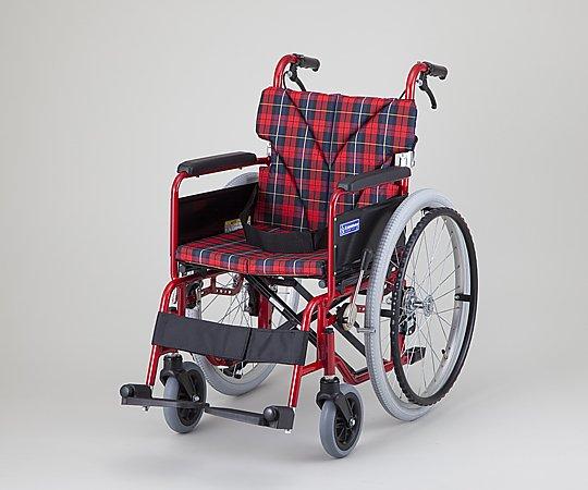 車椅子 (自走式/カラーアルミ製/背折れタイプ)
