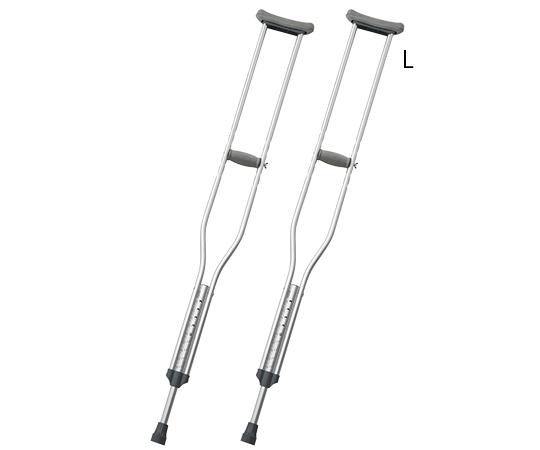 松葉杖 L 2本入り 適応身長(参考)178~198cm NS801L