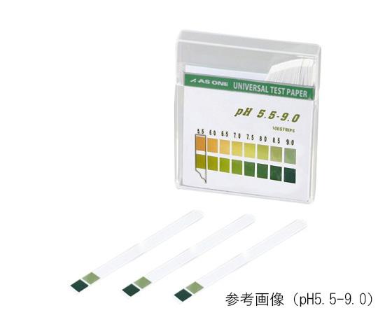 pH試験紙スティック0-14 100枚