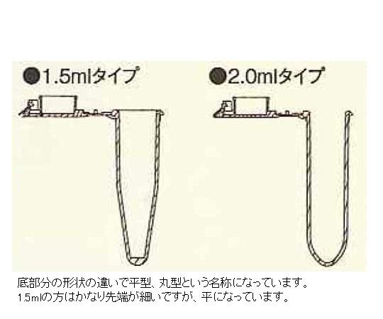ビオラモマイクロチューブ 丸底2mL
