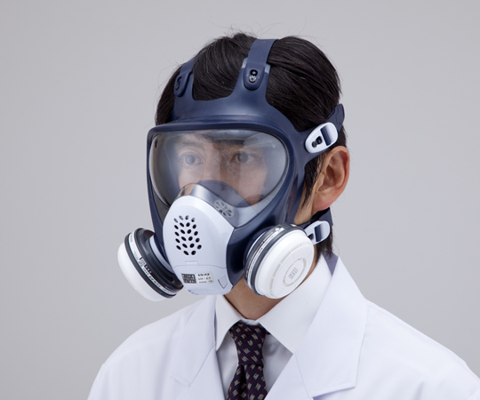 Gas Mask (For Low Concentration 0.1% Or Less) Size M GM185-1