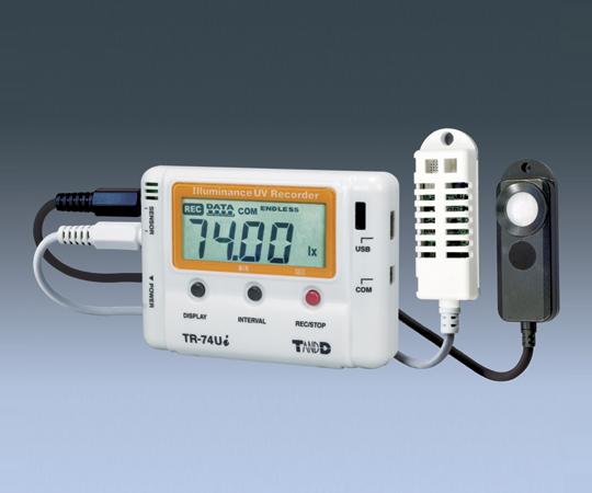 紫外線・照度・温湿度データロガー TR-74Ui