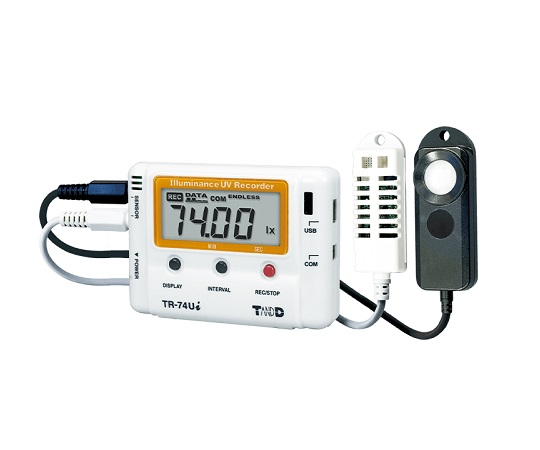 Ultraviolet Illuminance Thermo-Hygro Data Logger TR-74Ui