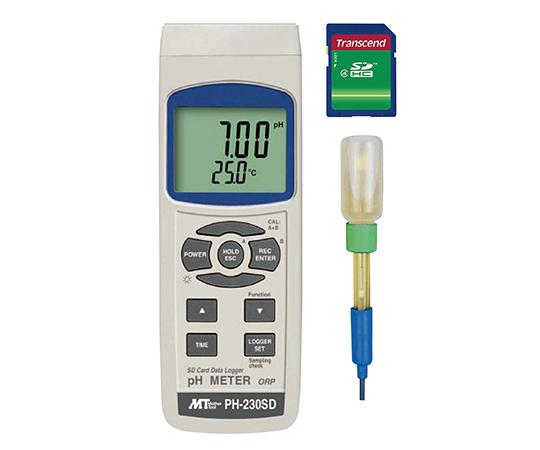 データロガーpH計 PH-230SD