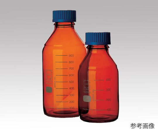 ねじ口瓶丸型茶褐色