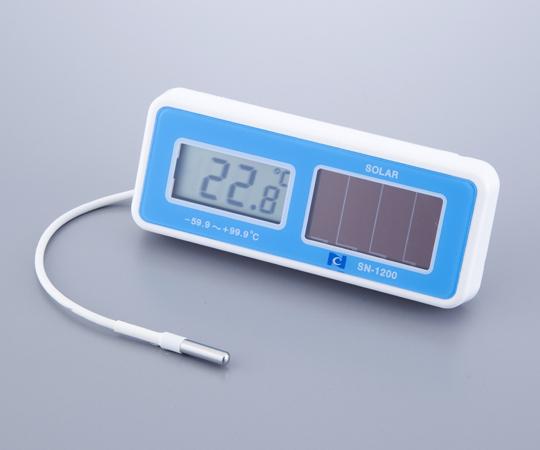 ワイドレンジ型ソーラーデジタル温度計 SN-1200