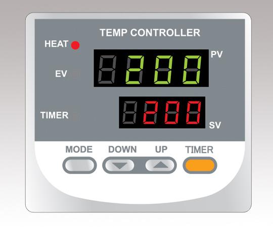 ETTAS 定温乾燥器 強制対流方式(右開き扉)窓付 OFW-450B-R (出荷前点検検査書付き)
