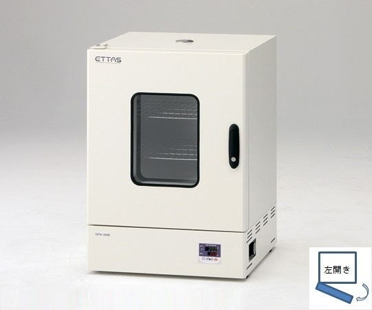 ETTAS 定温乾燥器 強制対流方式(左開き扉)窓付 OFW-600B (出荷前点検検査書付き)