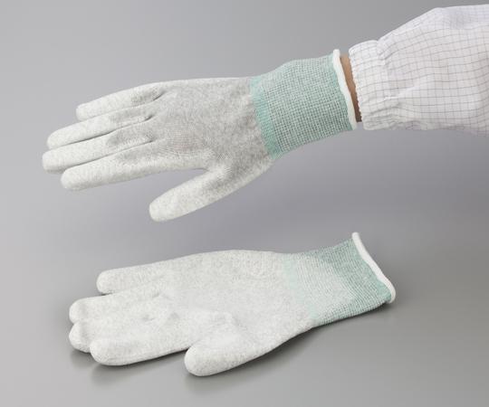 アズピュア ESD手袋(オーバーロックタイプ) 手の平コート L 10双入