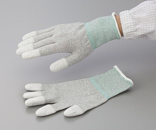 アズピュア ESD手袋(オーバーロックタイプ) 指先コート M 10双入