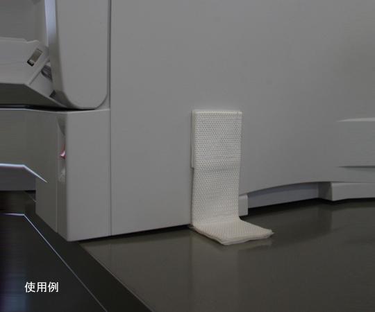 [取扱停止]粘着式耐震ベルト バックル付ベルト B型(白) 2本入 バックル付きベルト B型(白)