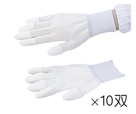 アズピュア PUクール手袋 指先コート L 10双