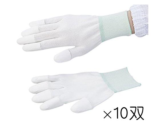 アズピュア PUクール手袋 指先コート M 10双