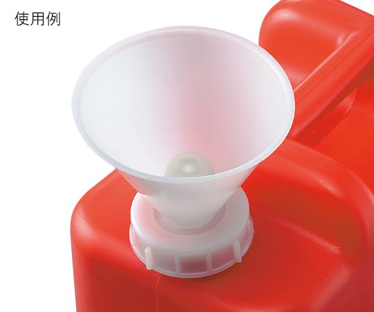 廃液用ロート φ120mm(満水標示付き)