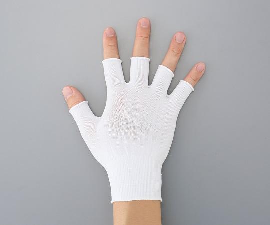 アズピュアインナー手袋 指先無し フリー ミドルカット 10双
