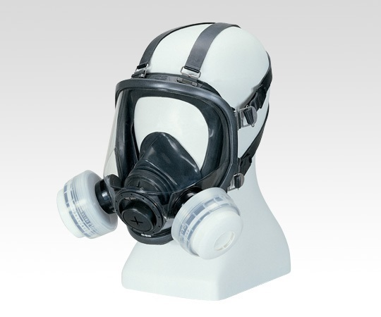 Gas Mask (For Low Concentration 0.1% Or Less) Size M For 2 Gas Absorption Cartridges GM165-2