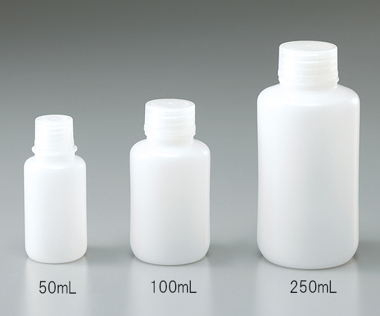 細口瓶 HDPE製 100mL(ケース販売)