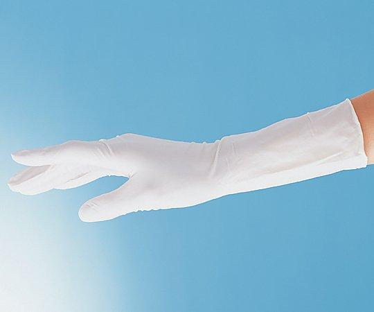 アズピュアニトリル手袋Ⅱ (ピュアパック) スムースタイプ(エンボス無し) M 1000枚
