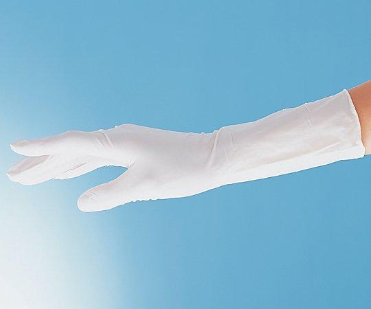 アズピュアニトリル手袋Ⅱ (ピュアパック) ハイグリップタイプ(全面エンボス) M 1000枚