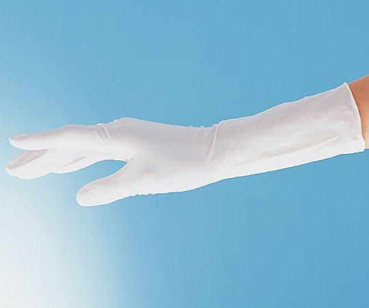 アズピュアニトリル手袋Ⅱ ピュアパック 指先エンボスハイグリップ(クリーンルーム向け)