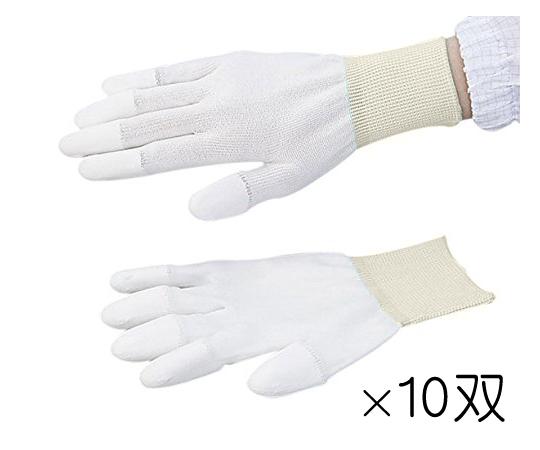 アズピュア PUコート手袋 指先コート LL 10双
