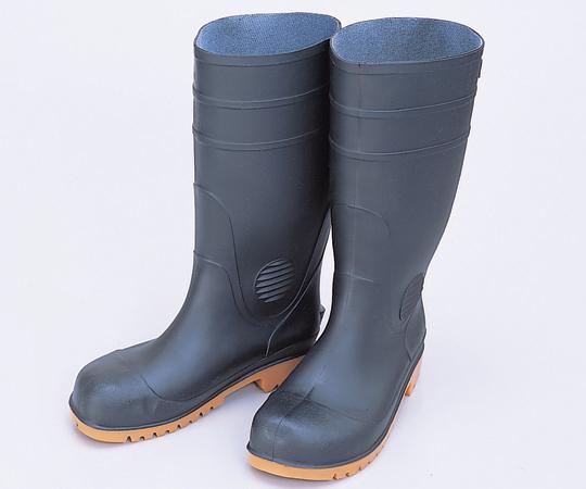 耐油安全長靴 24.0cm 黒 ZODY