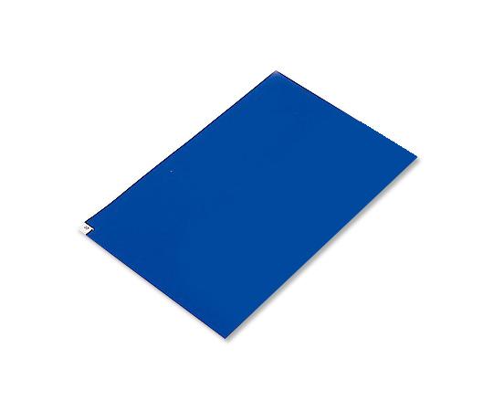 アズピュアクリーンマット (中粘着タイプ) 青 380×700 10シート 3870