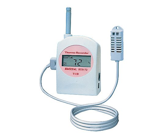 [Discontinued]ONDOTORI Series Wireless Thermo-Hygro Recorder Temperature, Humidity x each 1ch RTR-72