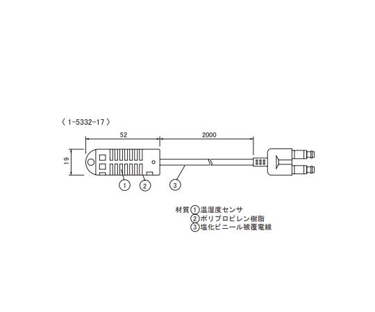Thermo-Hygro Sensor TR-3220