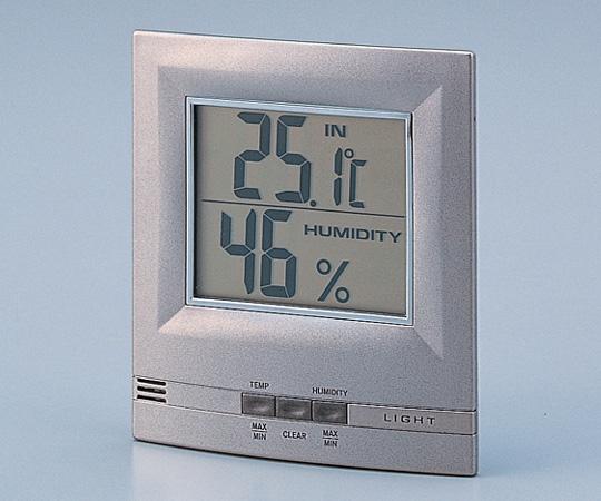 ELライト付デジタル温湿度計 2075
