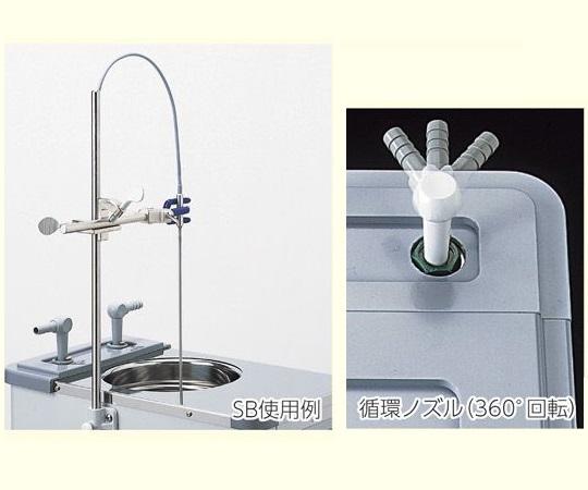 低温恒温水槽・冷却水循環装置用支持棒・受金具セット SB SB(支持棒・受金具セット)