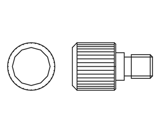 Replacement Knob Screw For Stirrer Shaft