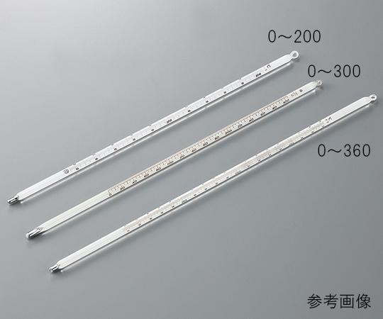 水銀棒状温度計