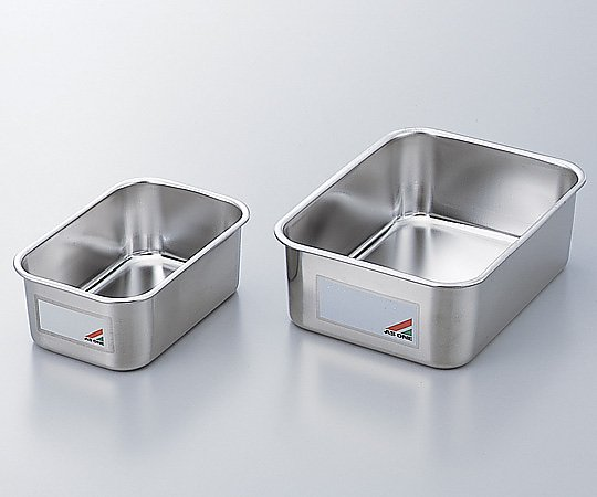 Deep Type Stainless Steel Tray with Memo (1L) 179 x 119 x 69mm and others