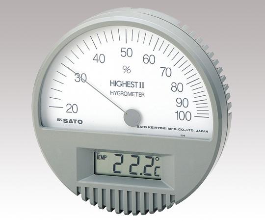 精密温湿度計 7542
